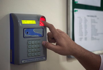Biometric Machine Setup